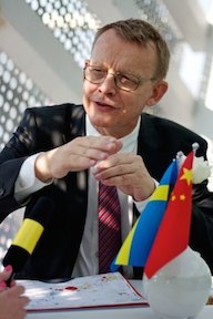 Hans Rosling in May 2010.